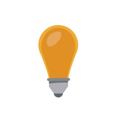light bulb idea creativity innovation think vector image vector image