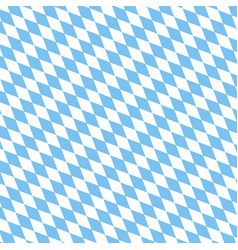 Bayern pattern background traditional german vector