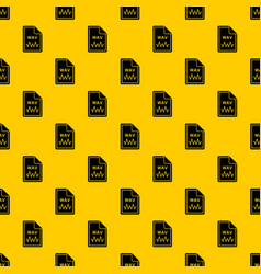 File wav pattern vector