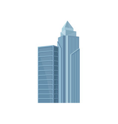 flat icon of hong kong skyscraper modern vector image