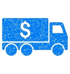 Money Delivery Grainy Texture Icon vector