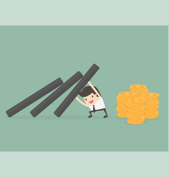 money protection vector image
