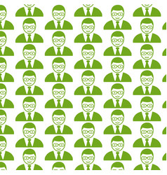 Pattern background people user icon vector