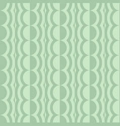 Rounded seamless pattern with contrast elements vector