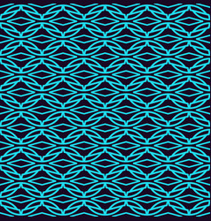 seamless pattern modern stylish linear texture vector image