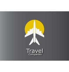 trip icon vector image