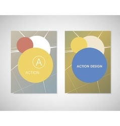 Bullet Holes in brochure vector image
