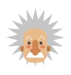 Albert einstein icon vector