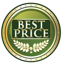 Best Price Green Label vector