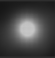 black abstract circle round spots or dots design vector image