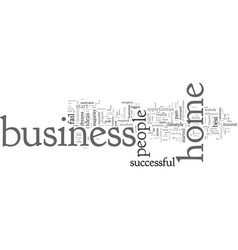 Could you succeed with a home business vector