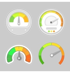 Gauge meter element vector image