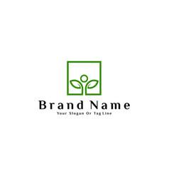 Logo design concept is a combination vector