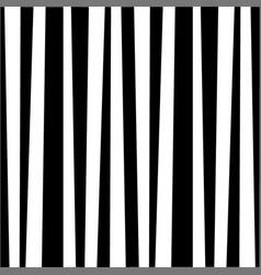 monochrome zebra black and white striped vertical vector image