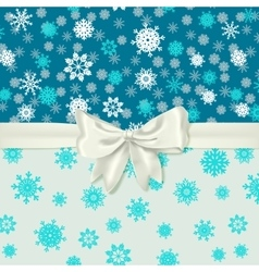 Winter card template vector