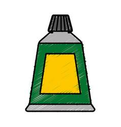 Paint tube icon vector