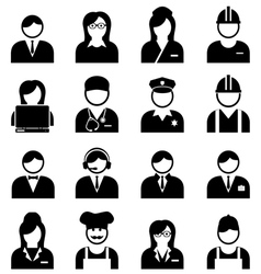 Professions and Occupations Icon vector image