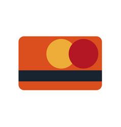 bank card credit debit virtual digital money vector image