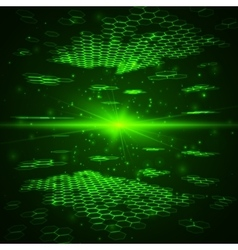 Futuristic digital background Technology vector image