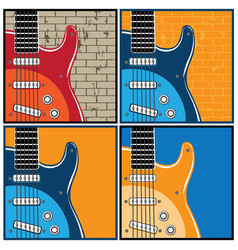 Guitars vector
