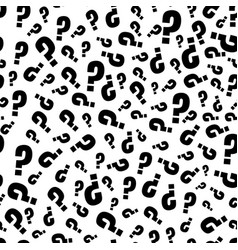 Question marks or interrogation pattern vector