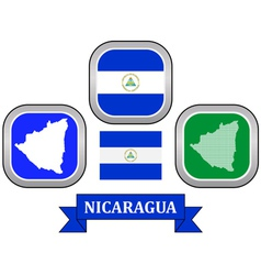 symbol of Nicaragua vector image vector image