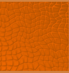 wavy abstract background with grid vector image