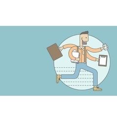 Worker with multitasking job vector