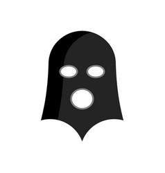 bdsm mask isolated sex toy for adults vector image vector image