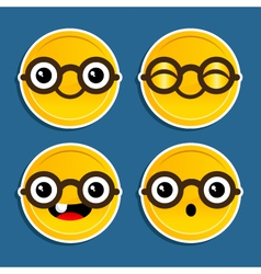Cartoon Gold Coins vector image vector image