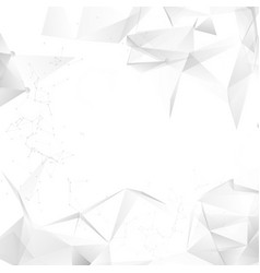 Abstract grey background design light vector