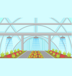 agricultural irrigation system vector image