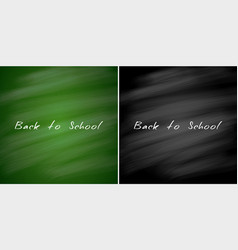 back to school sale banners chalkboard vector image