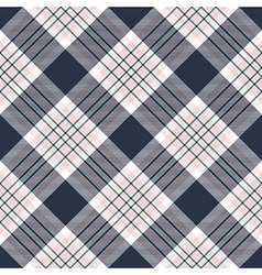 Check diagonal plaid seamless pattern vector image