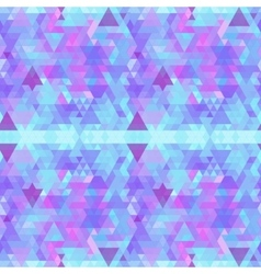 Colorful bright polygonal geometric background vector image