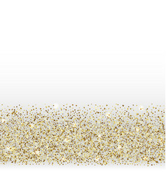 easter golden holiday glitter greeting seamless vector image