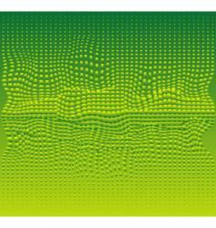 green bubbles vector image vector image