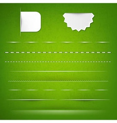 Green Texture With Dividers vector image