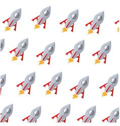 Rocket science background vector