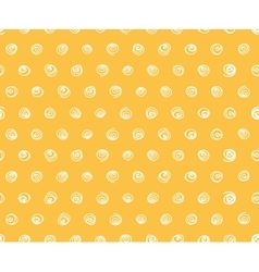 Seamless pattern polka dot fabric wallpaper vector