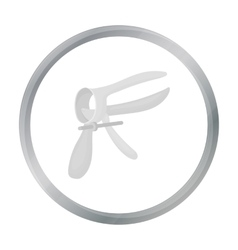Speculum icon in cartoon style isolated on white vector image