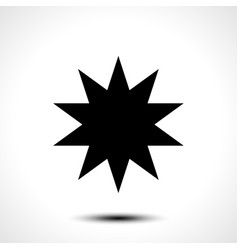 star shape icon symbol vector image