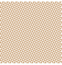 triangle seamless pattern background vector image