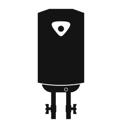 Water heater or boiler vector image