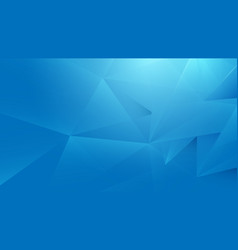 abstract blue geometric background technology vector image