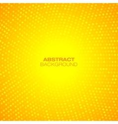 Abstract Circular Orange Background vector image vector image