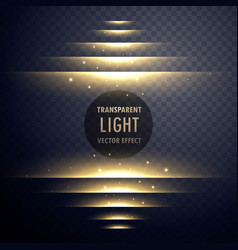 Glowing light effect steps with sparkles vector