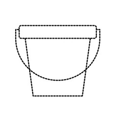 laundry bucket cleaning element maintanance vector image