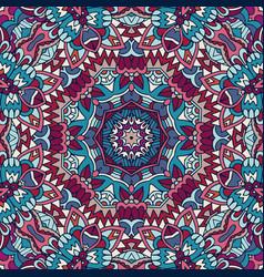 mandala floral design colorful ornament element vector image