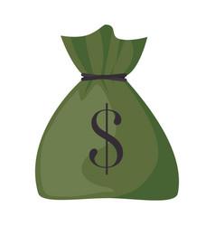 money sack icon vector image